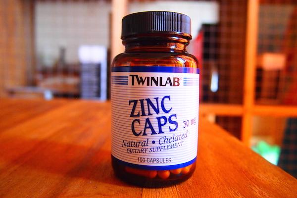ZINC ミノタブと併用