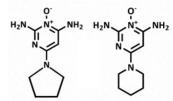 ピディオキシジル ミノキシジル 化学構造